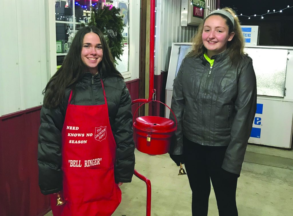 bem Martin Zoe left and Fuqua Emma right Bell Ringing 2018