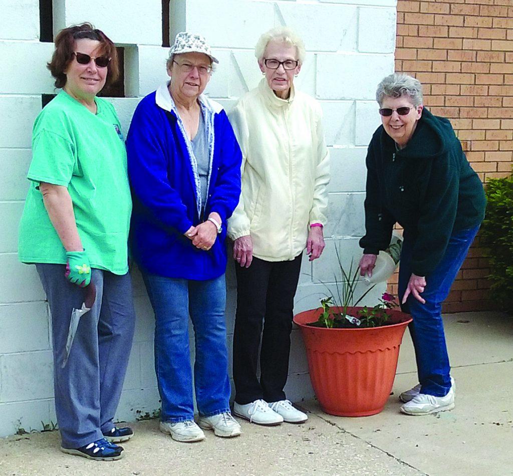 atw planting flowers