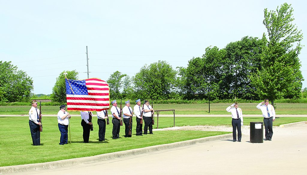 Flag Retirement 2887 Clr