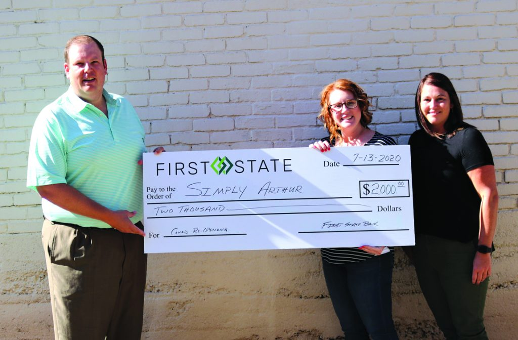 agc first state bank check arthur
